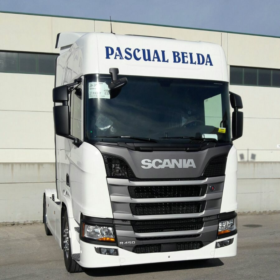 Transportes Juan Belda Scania